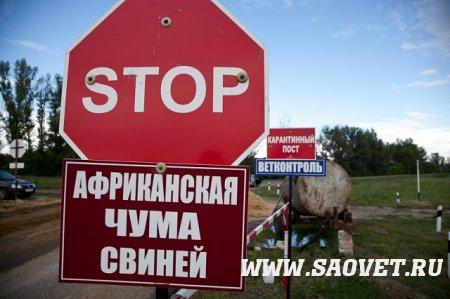 Эпизоотическая обстановка в РФ на 25 апреля 2021 года